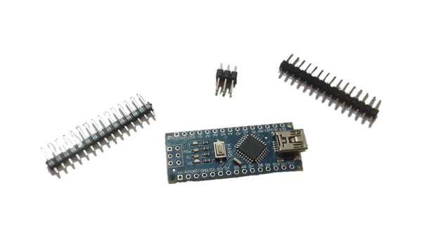 Arduino Nano no USB Cable (Unsoldered Pins)